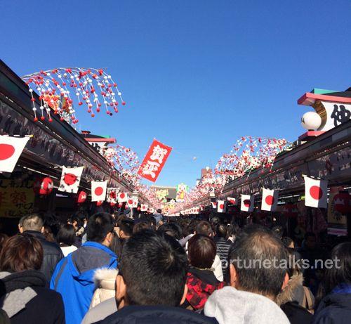 浅草寺パワースポットの三峰神社